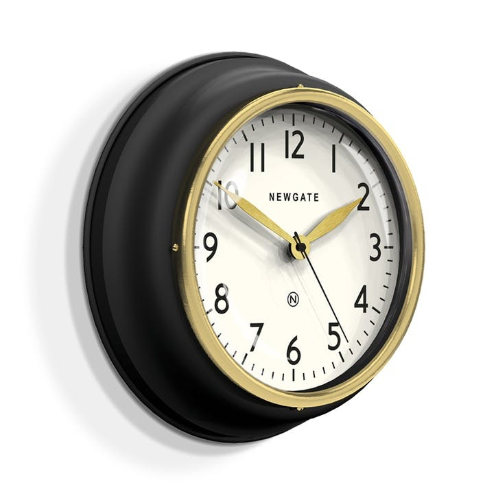The Cookhouse II Wall Clock, Dia. 35cm, Black