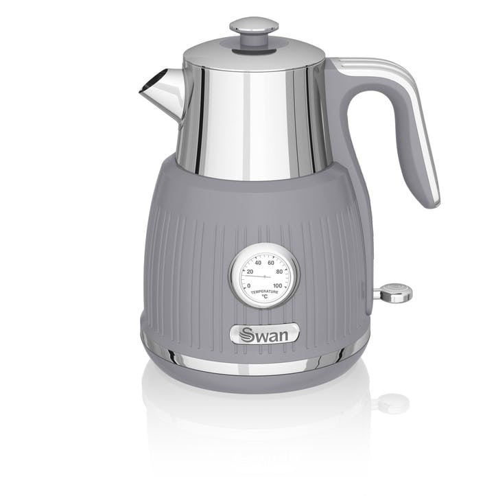 Retro Jug Kettle, Grey