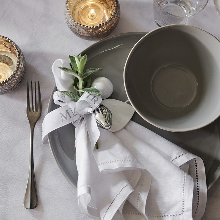 Portobello Cereal Bowl, Grey
