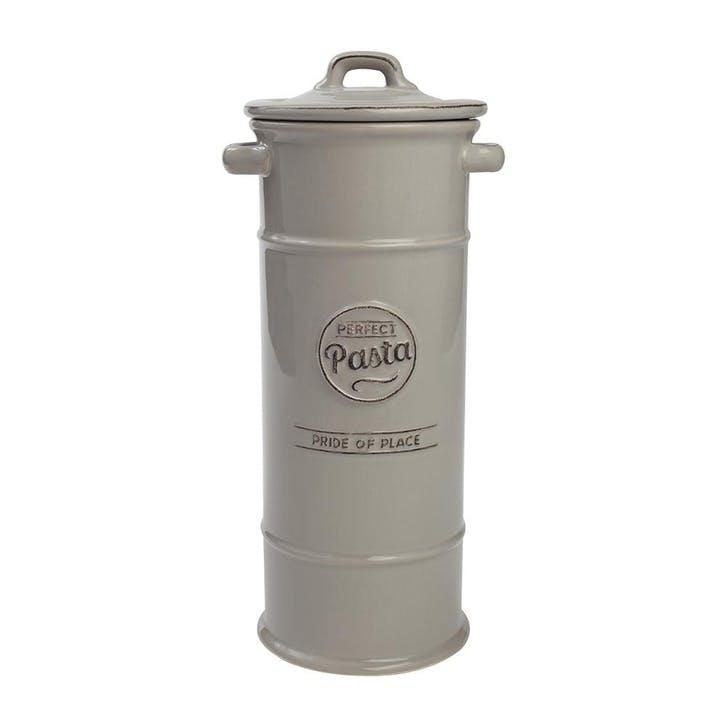 Pride of Place Pasta Jar, Cool Grey