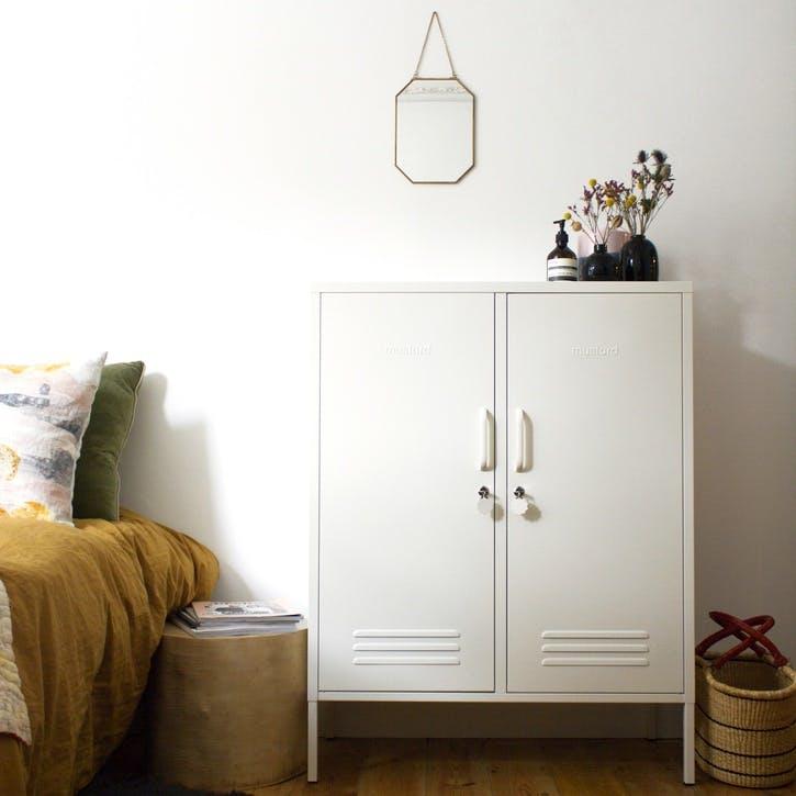 The Midi Locker, White