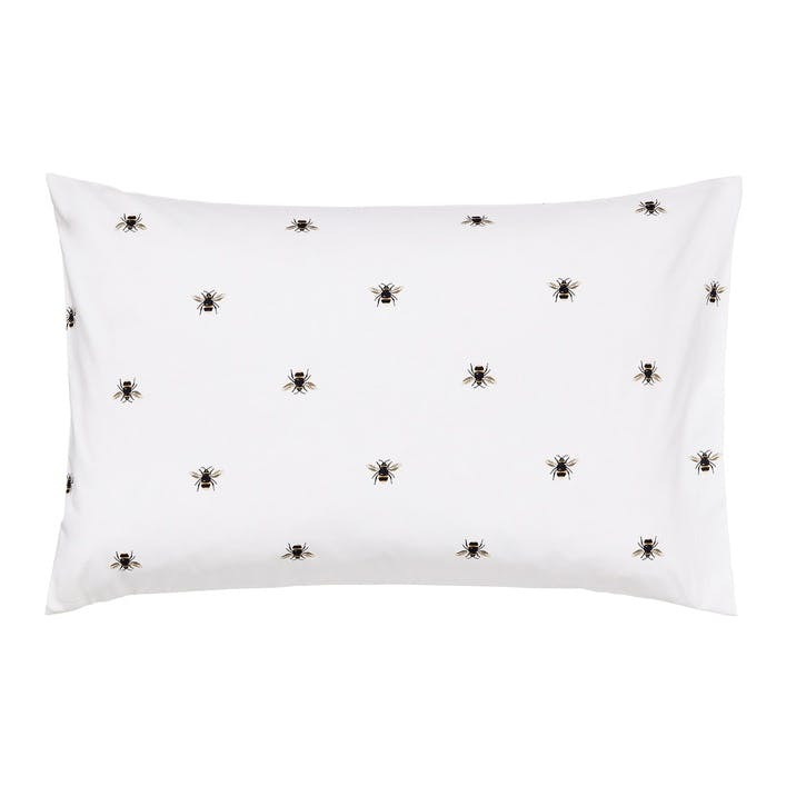 Botanical Bee Standard Pillowcase