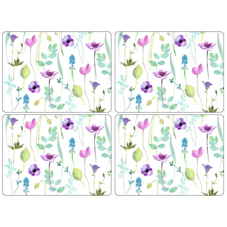 Water Garden Placemats - Small, Set of 6