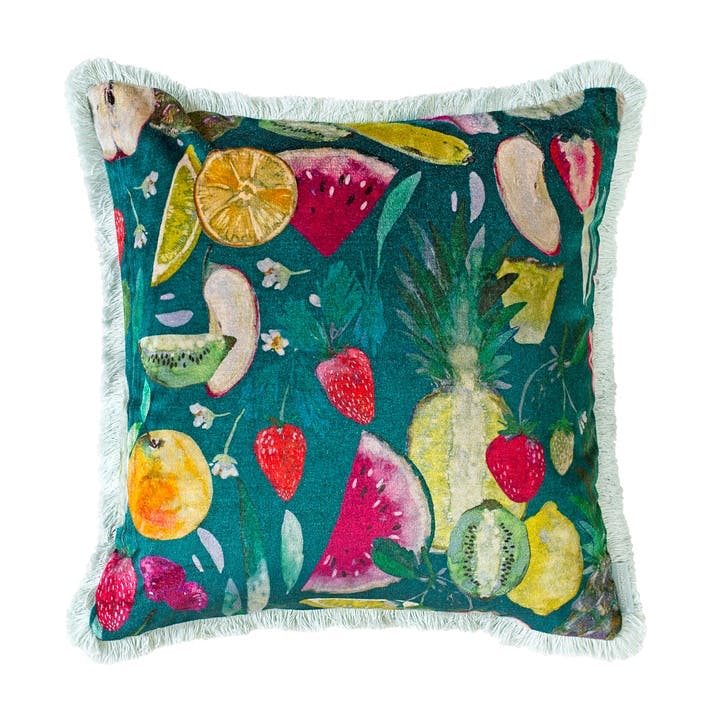 Tutti Fruity Cushion, Forest