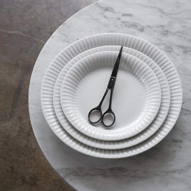 Hammershøi Plate, 22cm, White