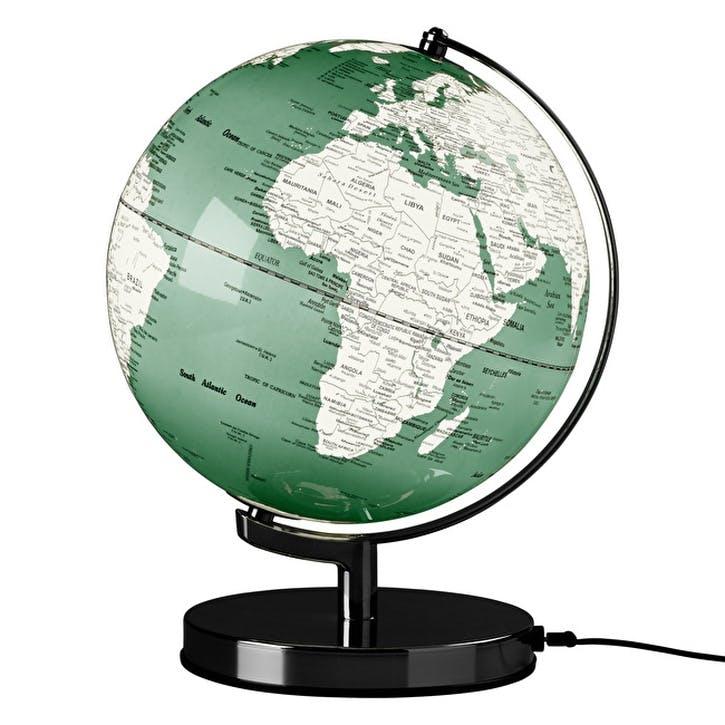 Swedish Green Globe Light
