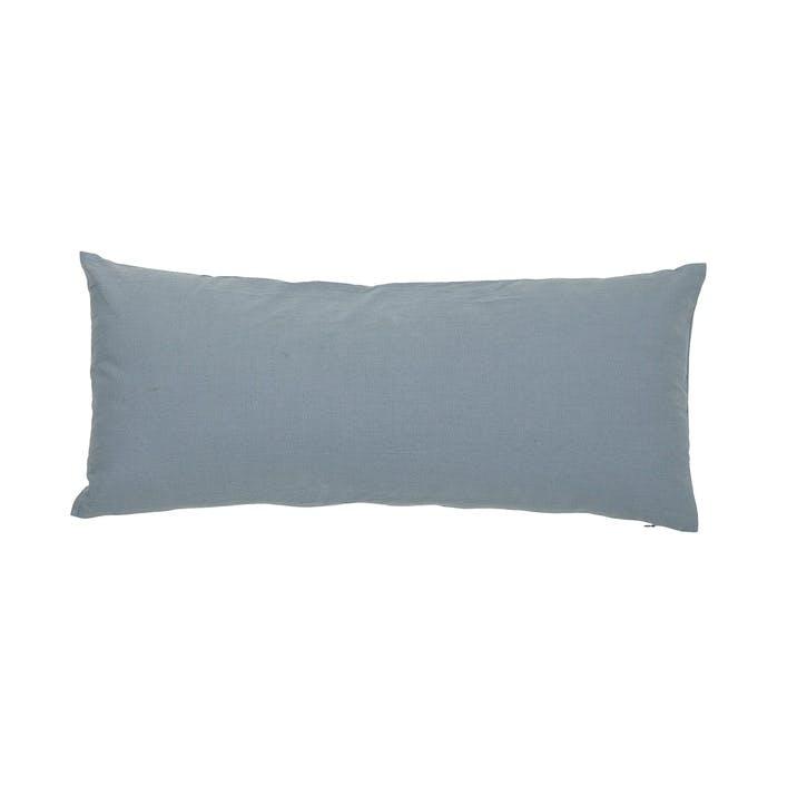 Honesty Bolster Cushion, Blue