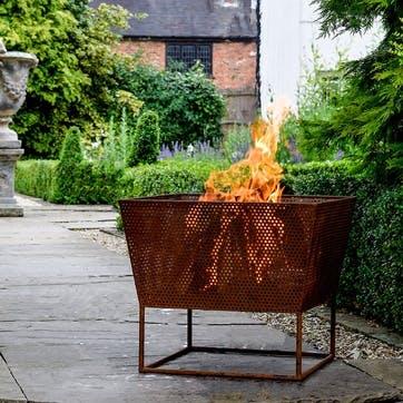 Norfolk, Outdoor Firebowl, Rust