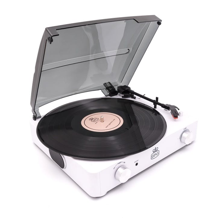 Stylo II Turntable; Chalk White