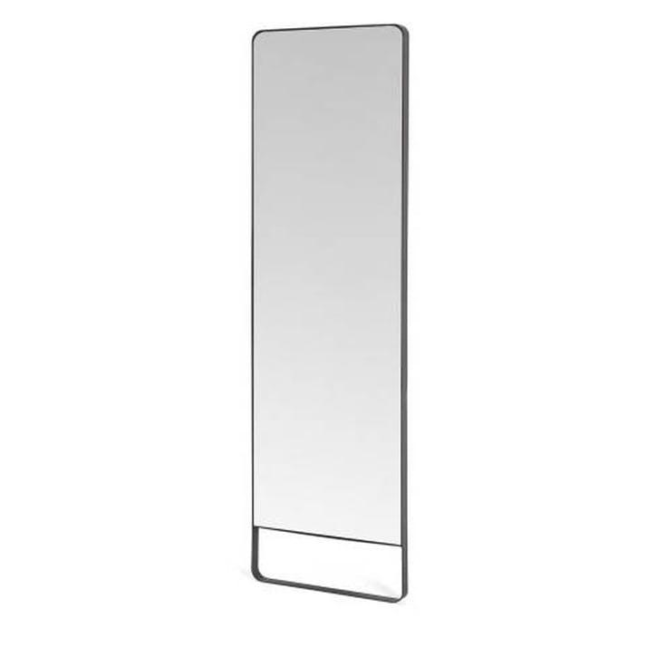 Arles Leaning Mirror, Cool Grey
