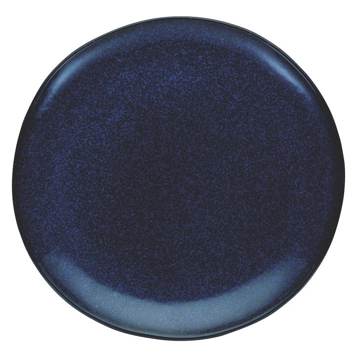 Olmo Side Plate, Dark Blue