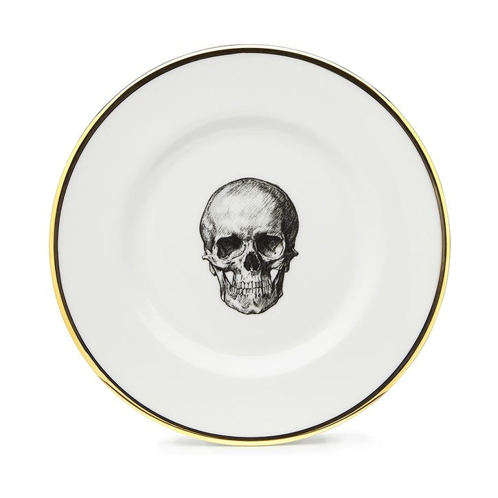 Rock and Roll Skull Side Plate