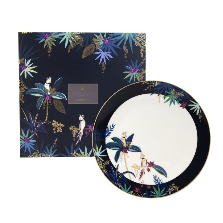 Cockatoo Round Platter, 30.5cm