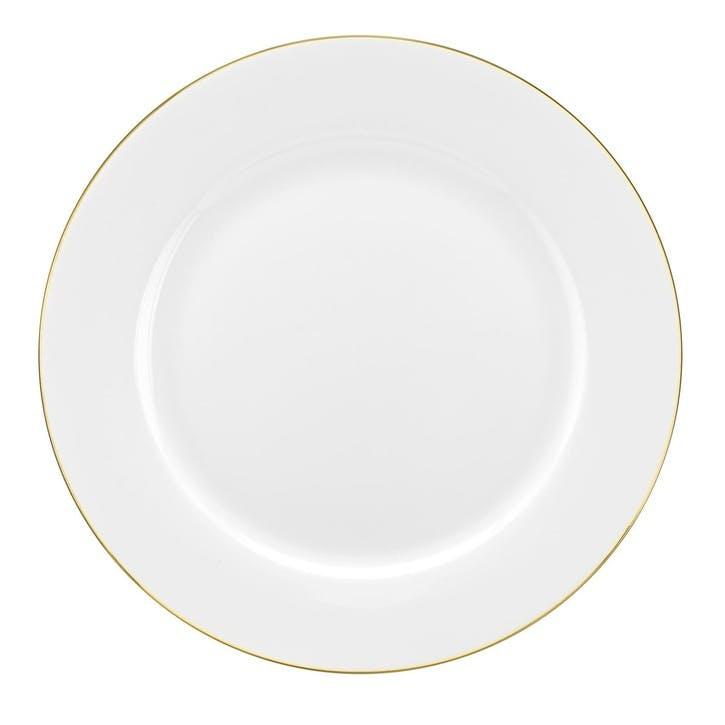 Serendipity Dinner Plate, Set of 4; Gold