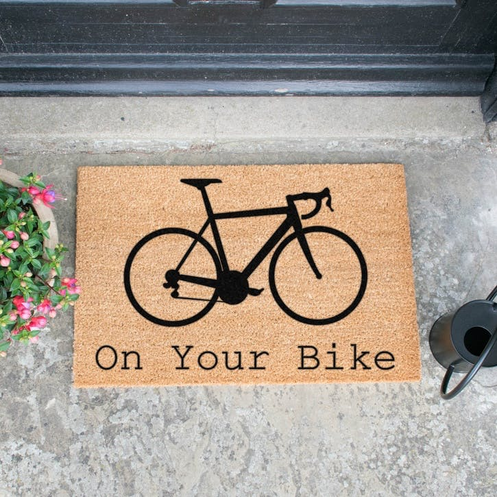 On Your Bike Doormat