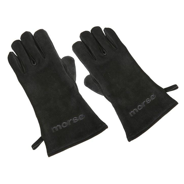 Fire Gloves, Left Hand, Black