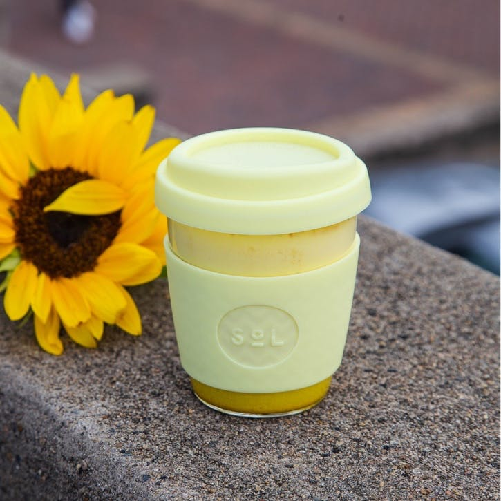 Coffee Cup, 12oz, Yummy Yellow