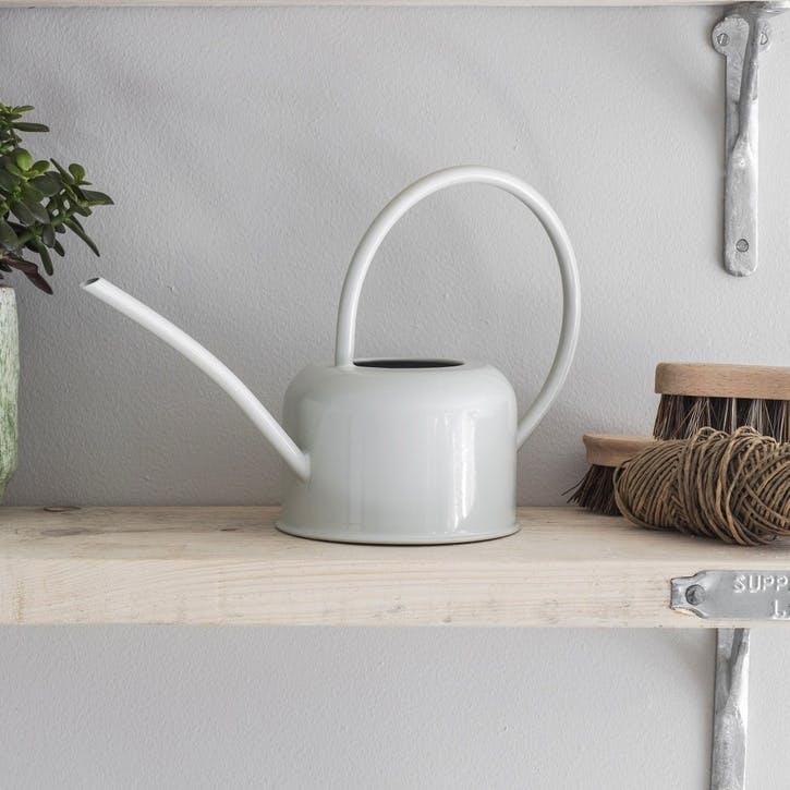 1.1L Indoor Watering Can in Chalk, Steel