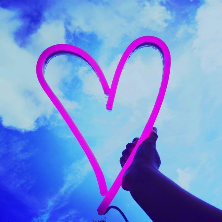 Heart LED Neon Light