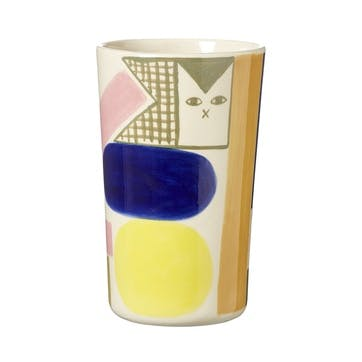 Kaleido Vase H21cm, Multi Colour