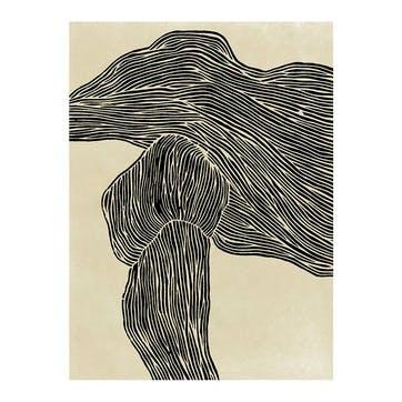 The Line No 16, Hein Studio Art Print