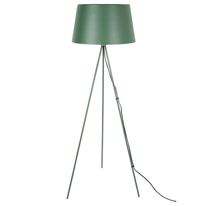 Tripod Floor Lamp, Green