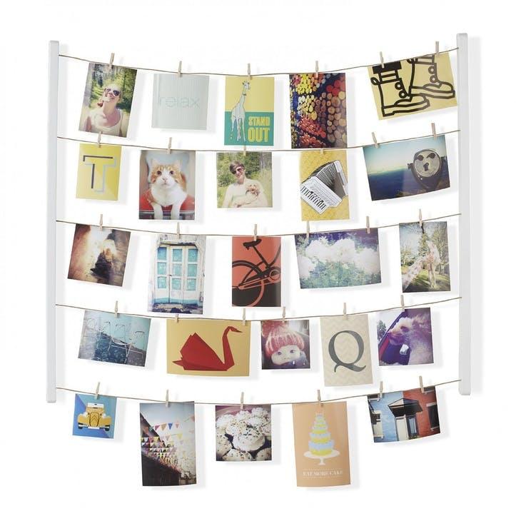 Hangit Photo Display, White