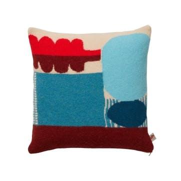 Koyo Cushion 24cm, Blue