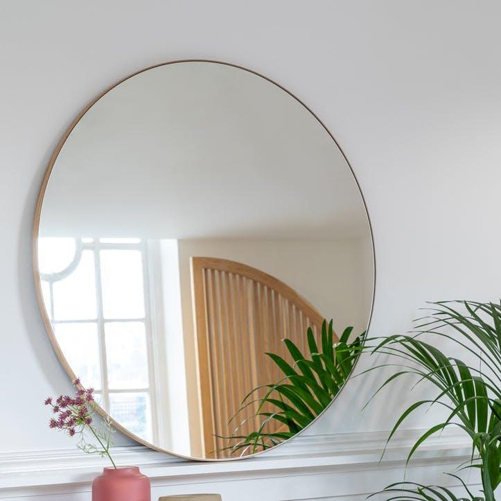 Fine Edge Mirror, 60cm, Gold