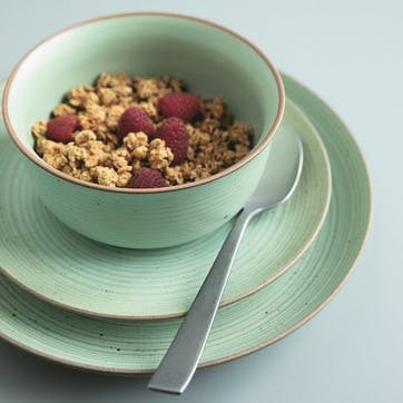Nature, Cereal Bowl, Dia13cm, Green