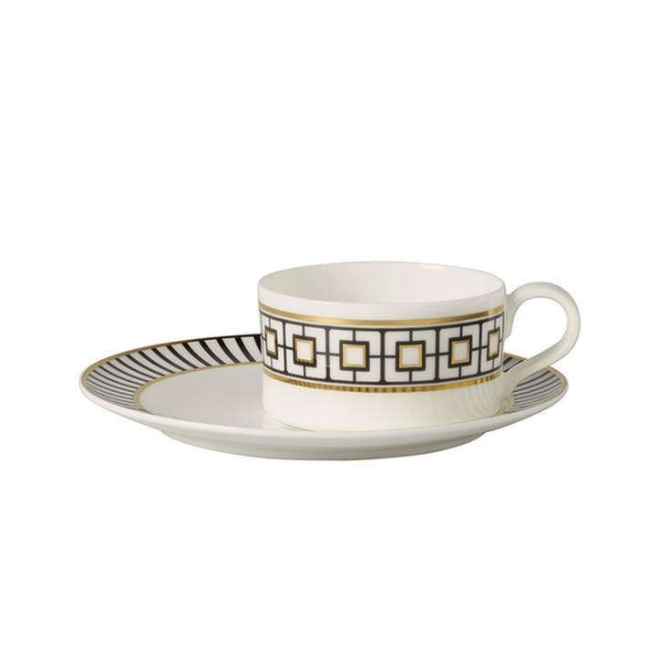 MetroChic Tea Cup and Saucer