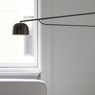 Grant Wall Light H32 x D111 Black