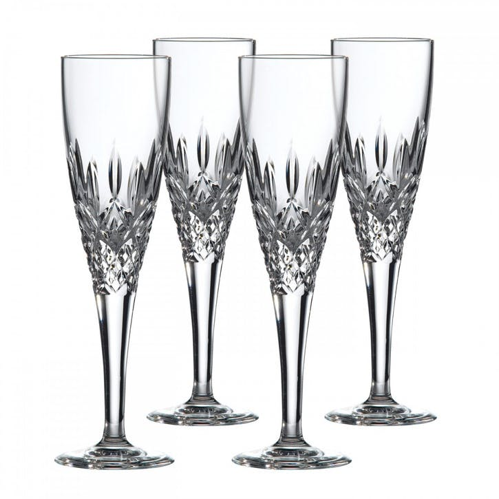 Highclere Champagne Flutes, Set of 4