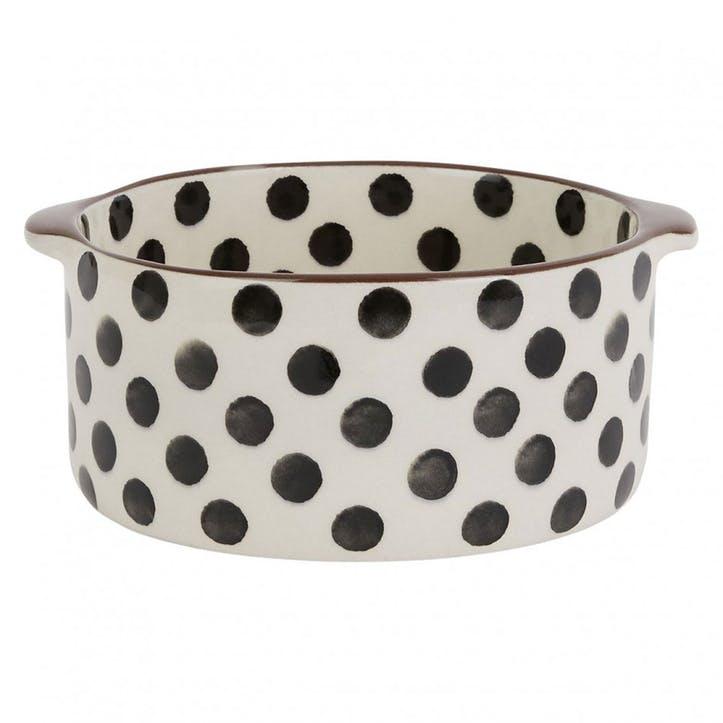 Elliot, Round Oven Dish, Small, Spots
