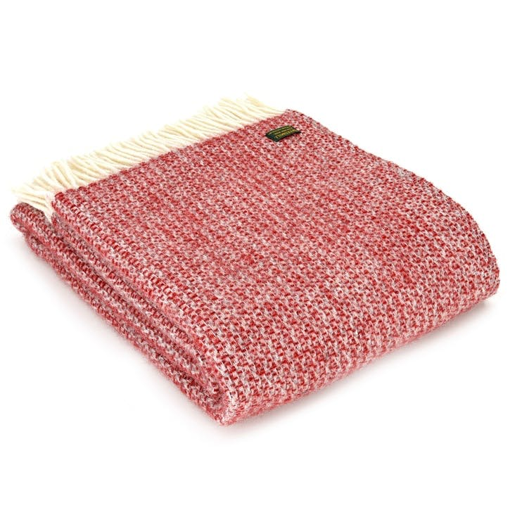 Illusion Throw; Red & Silver