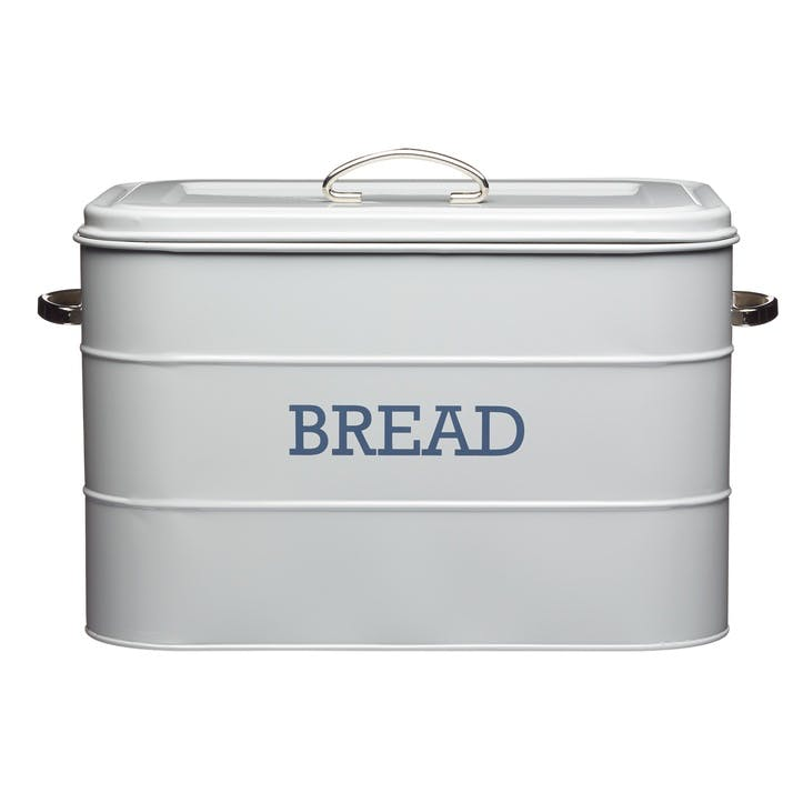 Living Nostalgia Bread Bin in French Grey