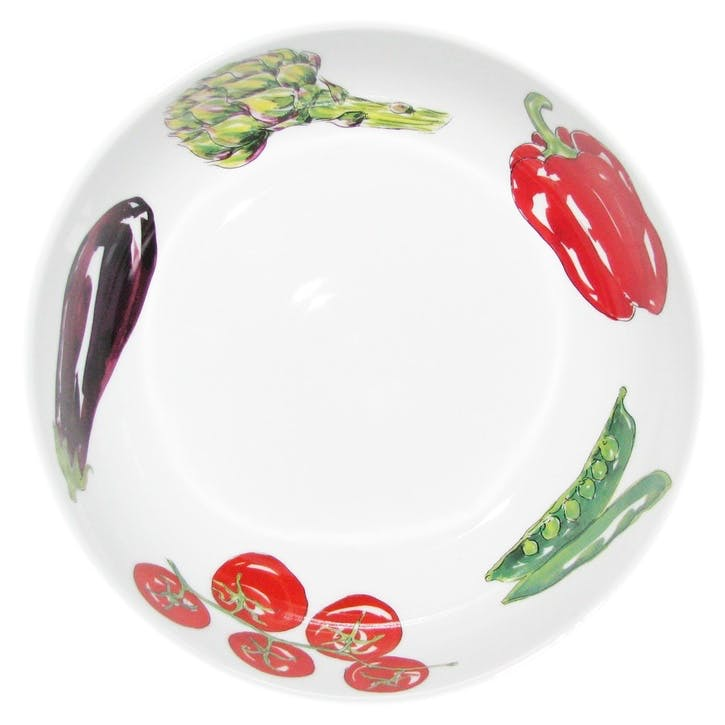 Vegetables Round Bowl - 24cm