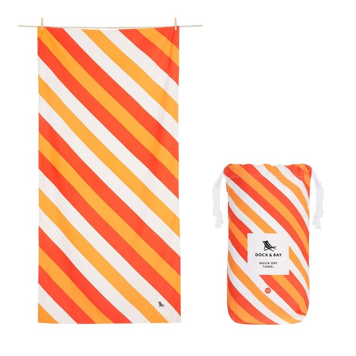 Sway Beach Towel, Indian Summer, Large