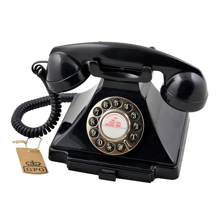 Carrington Telephone; Black