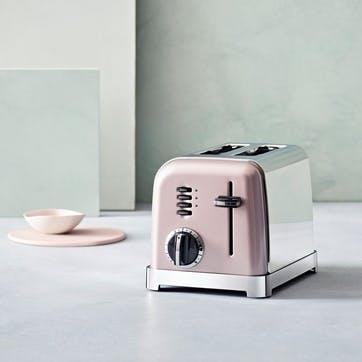 2 Slice Toaster, Vintage Rose