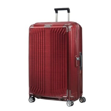 Lite-BoxSpinner Suitcase, 75cm, Red