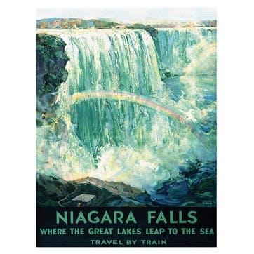 Piddix Niagra Falls Canvas, 30 x 40cm
