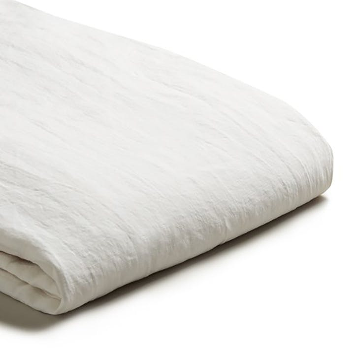 Superking Fitted Sheet White