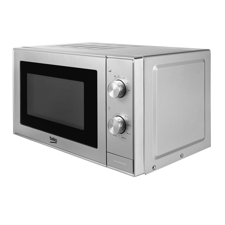 Compact Microwave - 20L; Brushed Silver