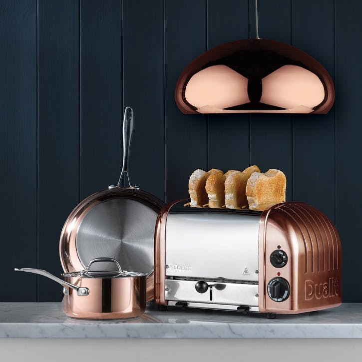 Classic Toaster, 4 Slot; Copper