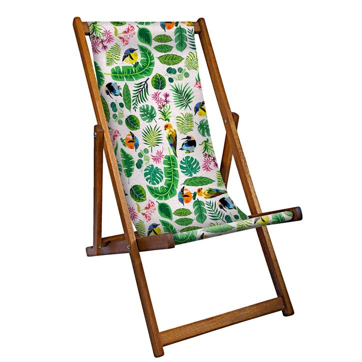 Deckchair Tropical Birds