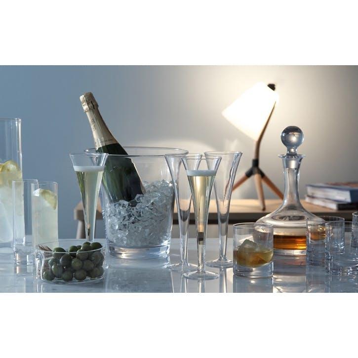 LSA Bar Champagne Flute, 200ml, Set of 2