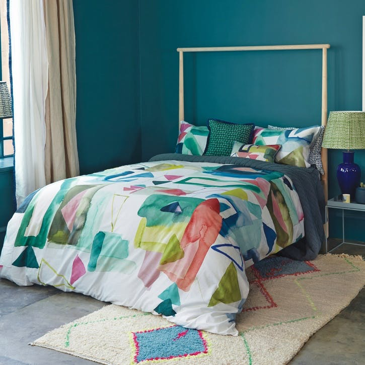 St Ives Super King Duvet Set