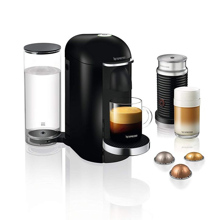 Vertuo Plus Coffee Machine with Aeroccino; Black