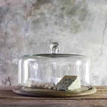 Recycled Glass Cake Dome